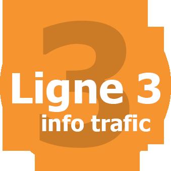 Infos trafic ligne 3