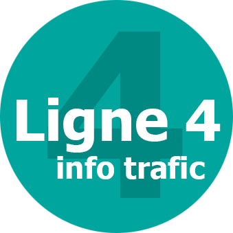 Infos trafic ligne 4