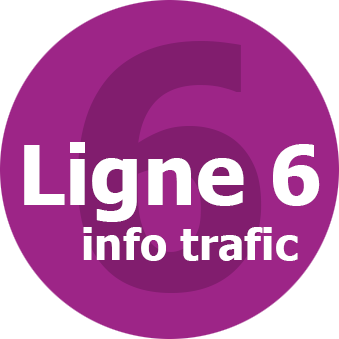 Infos trafic ligne 6